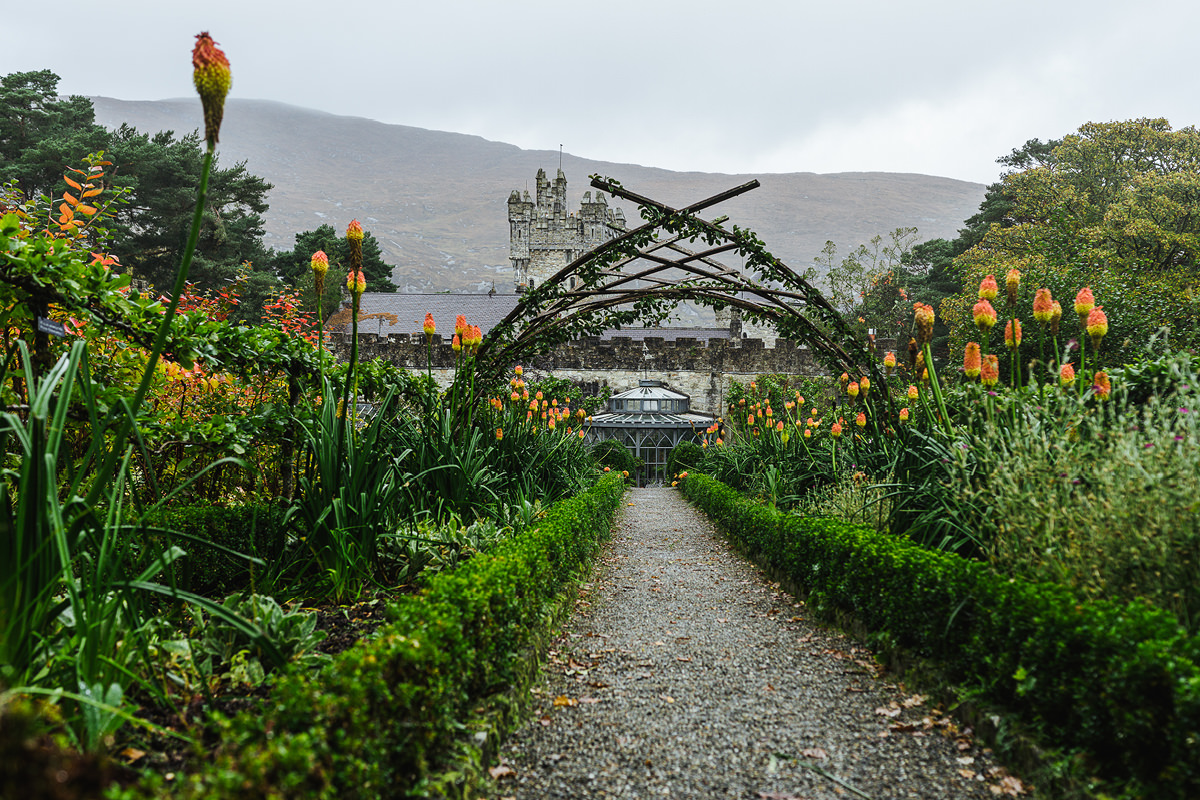 Ausflug mit Hund Irland Donegal Glenveagh Castle