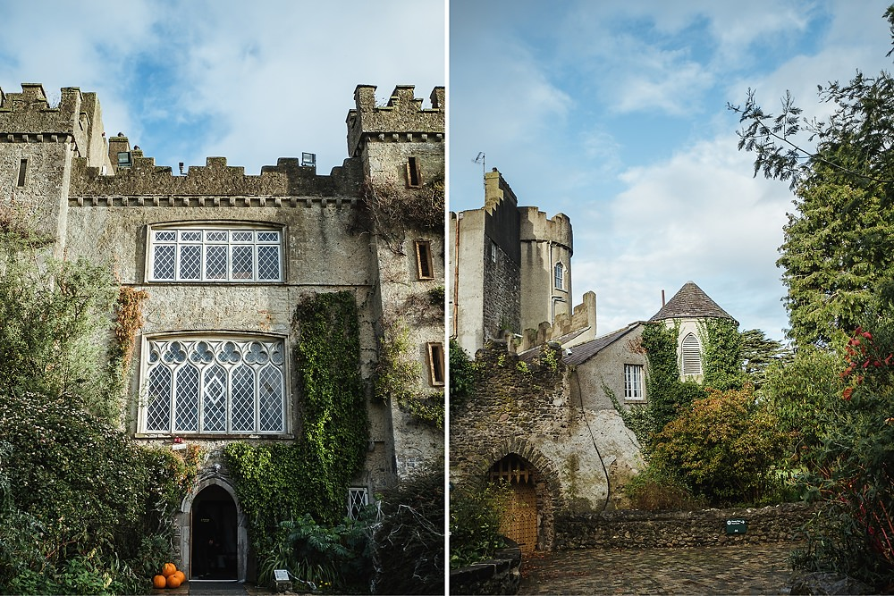 Ausflug mit Hund Irland Dublin Malahide Castle