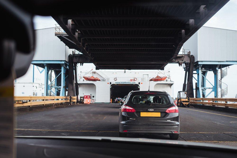 Irish Ferries Fähre nach Irland