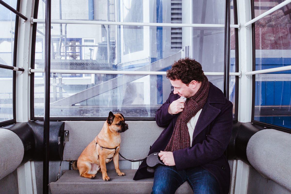 Ausflugsziel Achensee Hund 0015